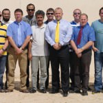Darren Coombs in Saudi Arabia