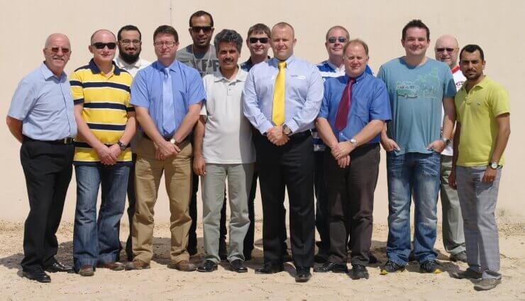 Nuco Training in Saudi Arabia