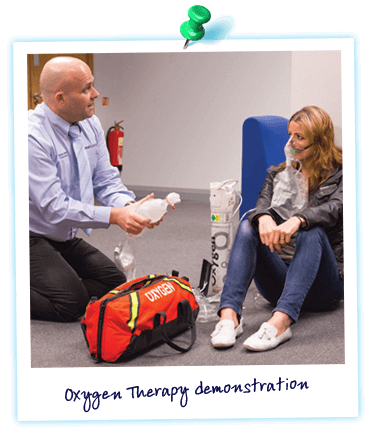 Oxygen Therapy Course demonstration