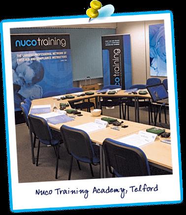 Nuco academy Telford training room