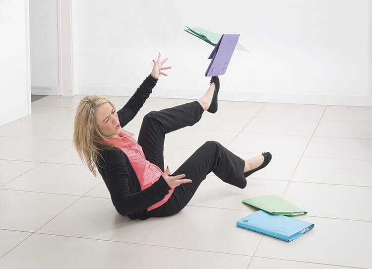 Health Risk workplace fall