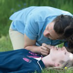 First aid for horse riders CPR