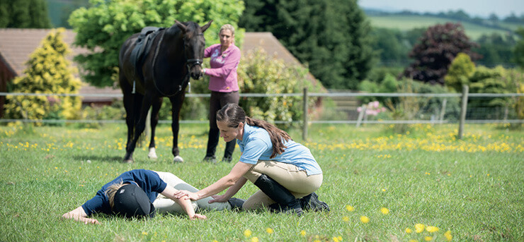 First aid for horse riders
