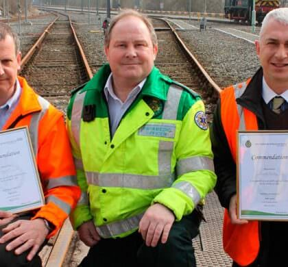 Lifesaving action at Alston Traincare