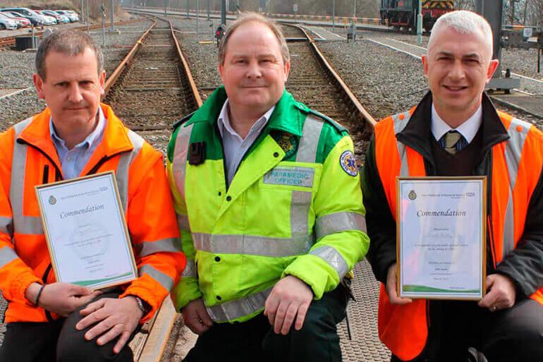 Lifesaving action at Alston Traincare