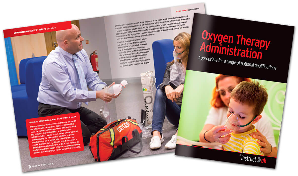 Oxygen Therapy Training book in production