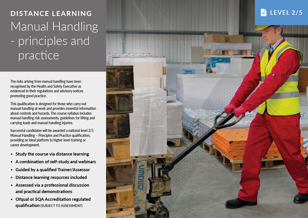 Manual Handling – Distance Learning