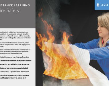 Fire Safety – Distance Learning