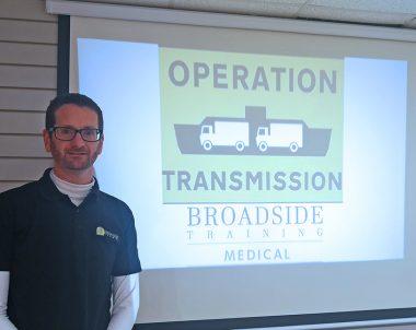 Broadside Training commence 'Operation Transmission'