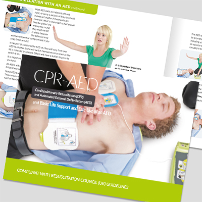 CPR-AED book