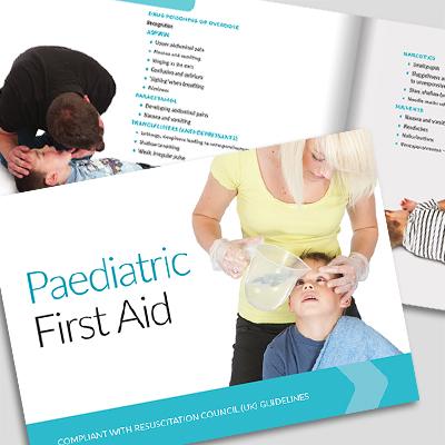 Paediatric First Aid book